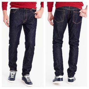 J. Crew Straight-Fit Jean in Rinse Wash
